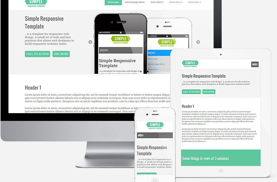 What are templates in Web Design